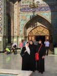 Vor der Imamzadeh